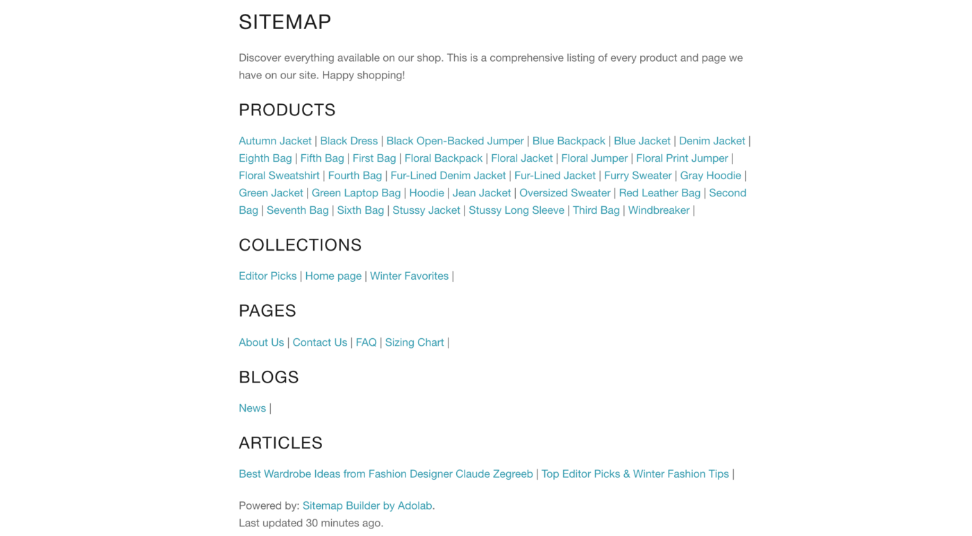 shopify html sitemap 4 awesome seo benefits for your store adolab