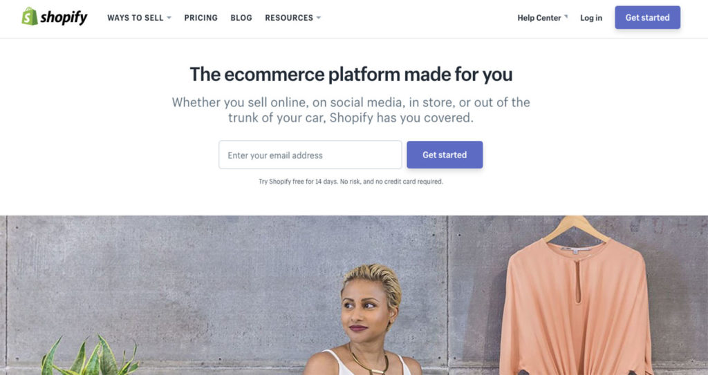 free trial shopify account