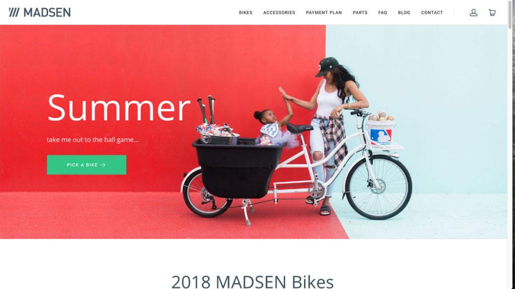 madsen bikes Innovative product
