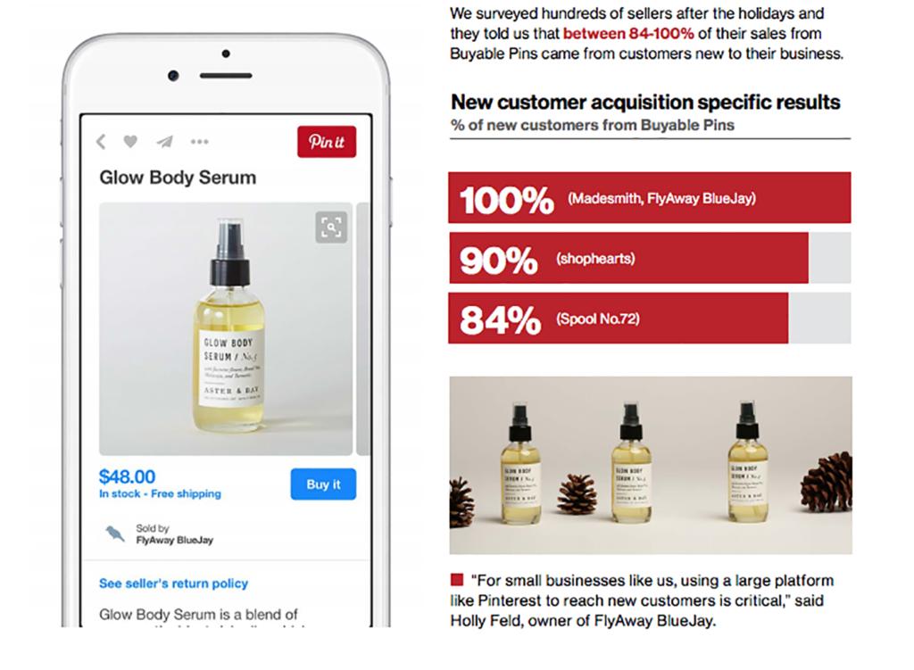pinterest shopify app