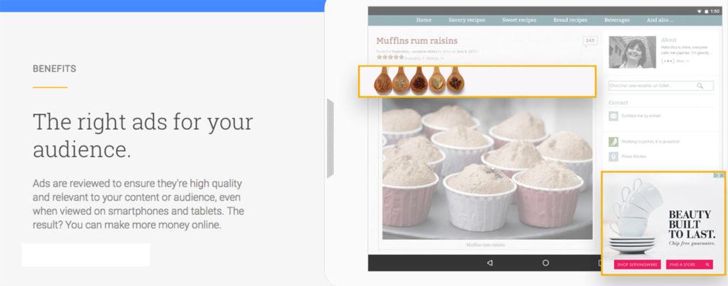 adsense google advertisements