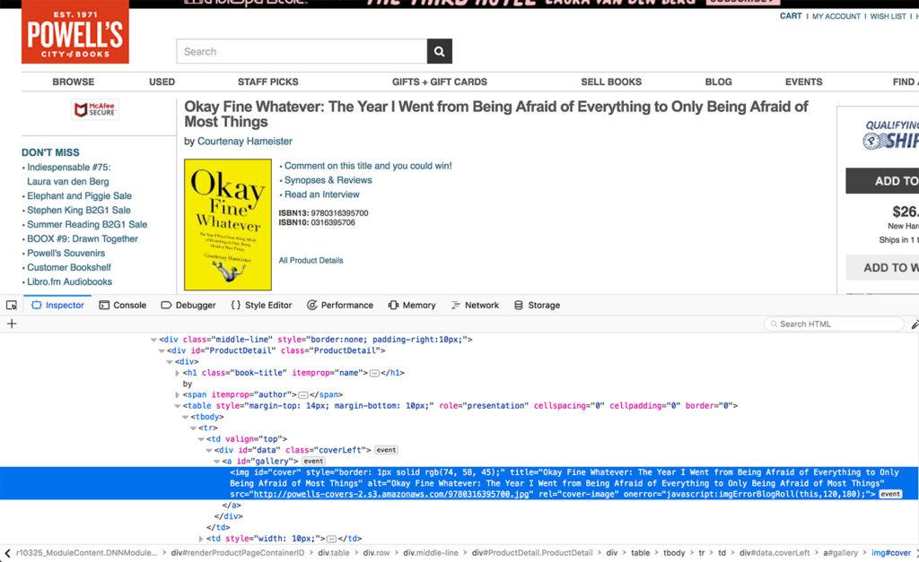 code example alt text