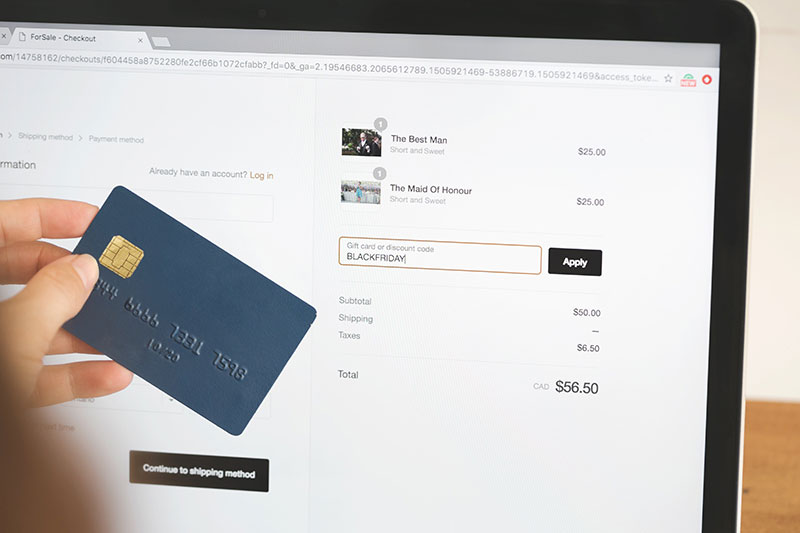 converting customers online checkout funnel