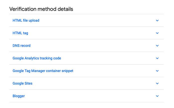 google search console verification process