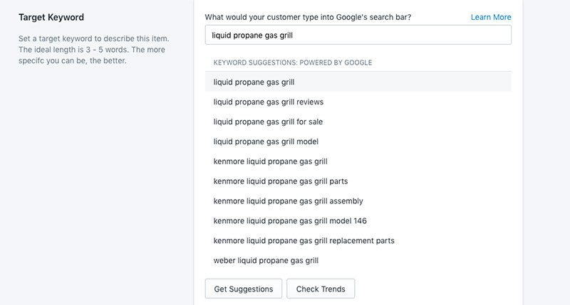 keyword research tool shopify seo app