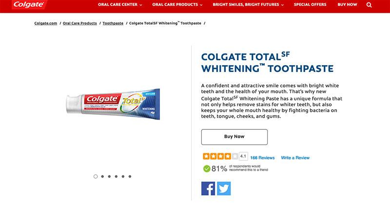 colgate shopify store