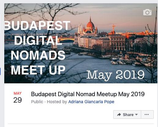 create facebook group meet up