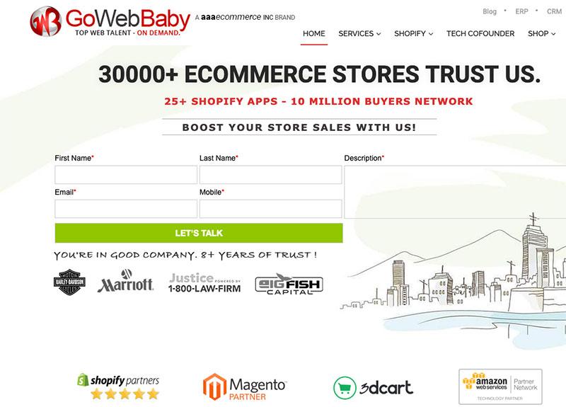 go web baby app company
