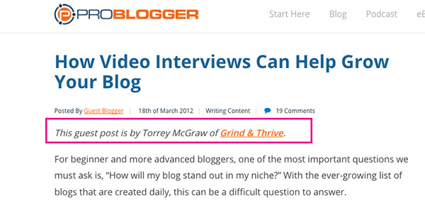 guest blogging tips and tricks