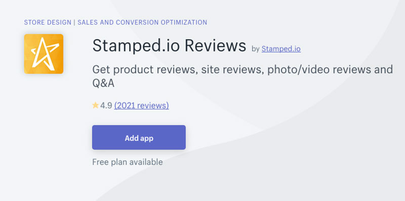 stamped.io reviews