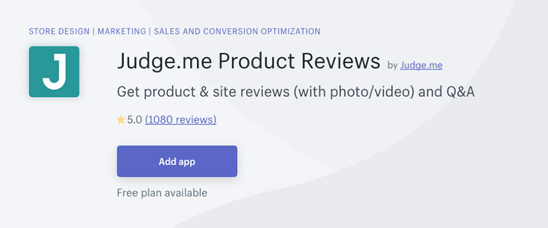 judge me product review app