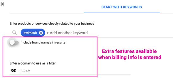 keyword beginners guide