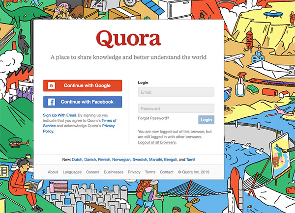 quora questions blog content resource