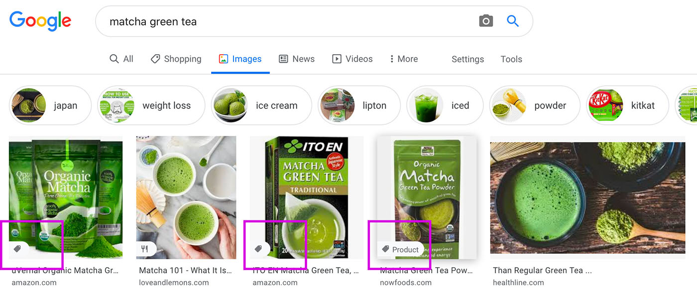 google images shopify rich snippets product tag