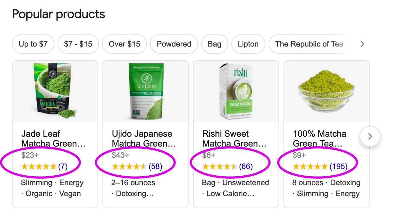google product reviews shopify rich snippets