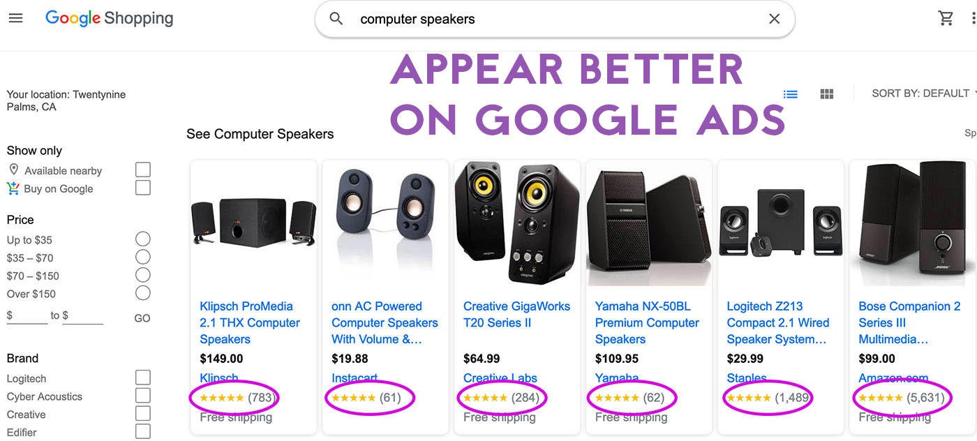 google shopping ads shopify rich snippets