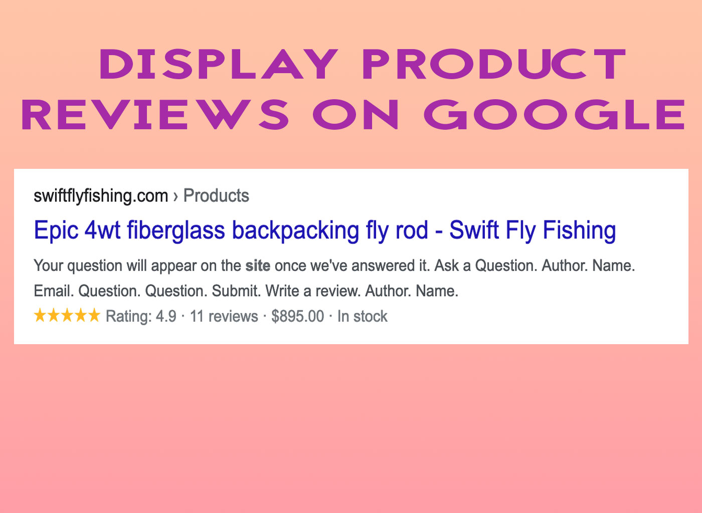 shopify store install rich snippets